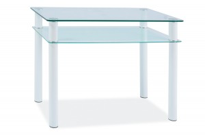 Steklena jedilna miza Sonia 100X60