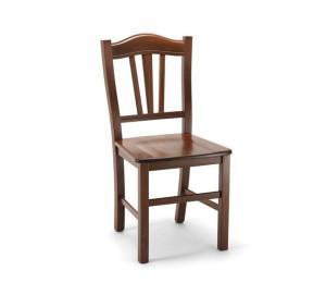 Stol SILVANA oreh masivno sedišče