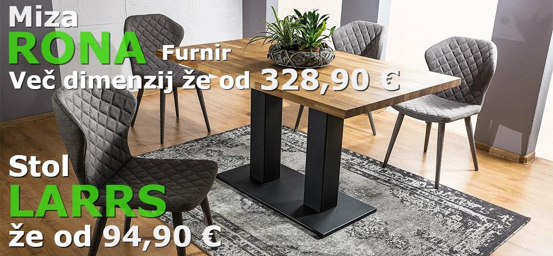 miza in stoli